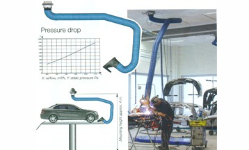 Bodywork extraction arm