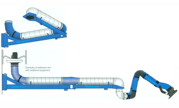Extension arm